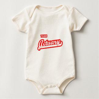 Team Actuary Baby Bodysuit