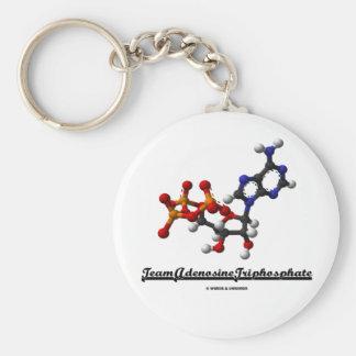 Team Adenosine Triphosphate (ATP) Keychain