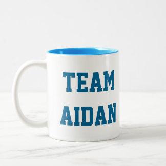 Team Aidan Autism Awareness Mug