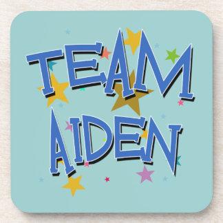 Team Aiden! Drink Coaster