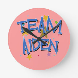 Team Aiden! Round Clock