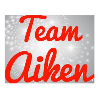 Team Aiken Postcard