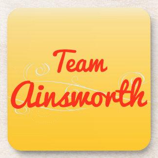 Team Ainsworth Beverage Coaster
