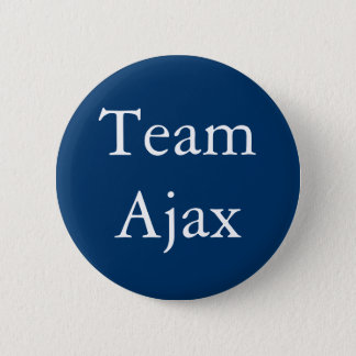 Team Ajax badge Pinback Button