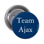 Team Ajax badge Pinback Buttons