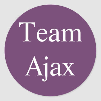 Team Ajax sticker