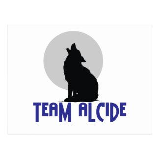 Team Alcide Postcard