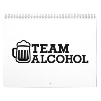 Team alcohol calendar