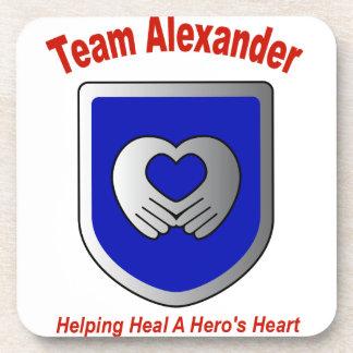 Team Alexander Beverage Coasters