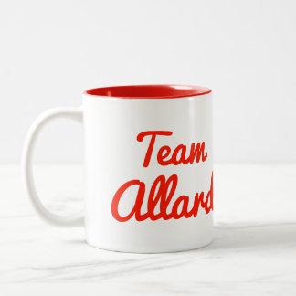 Team Allard Two-Tone Coffee Mug