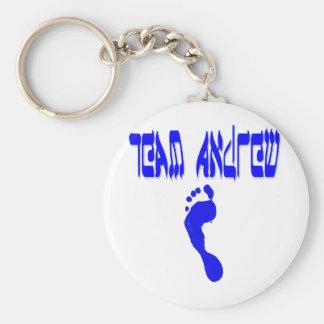 Team Andrew Keychain