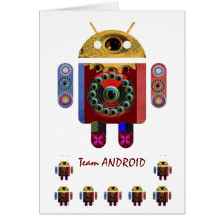 Team ANDROID : MerryChristmas HappyNewYear Card