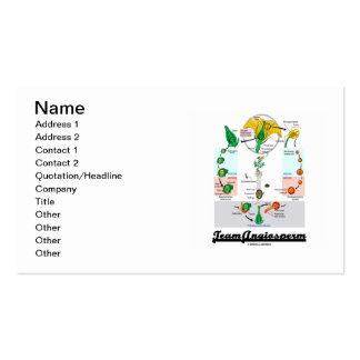 Team Angiosperm (Alternation Of Generations) Business Card