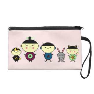 Team Anime Wristlet Purse