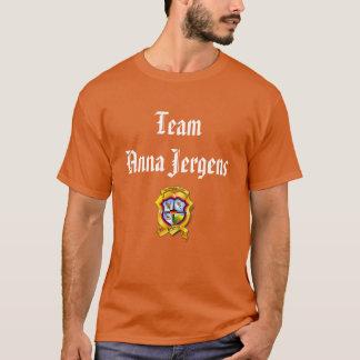 Team Anna Jergens t-shirt