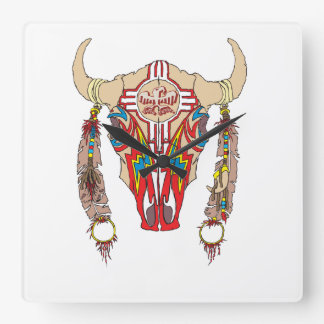 Team Apache Bison Clock