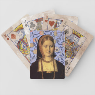 Team Aragon - Queen Catherine of Aragon Bicycle Playing Cards