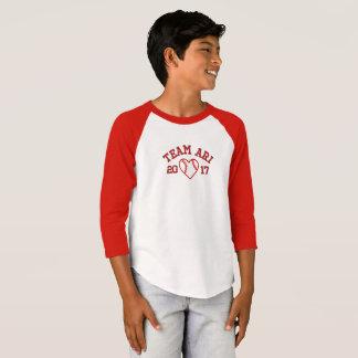 Team Ari boys baseball shirt