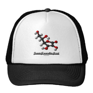 Team Ascorbic Acid (Chemical Molecule Vitamin C) Trucker Hat