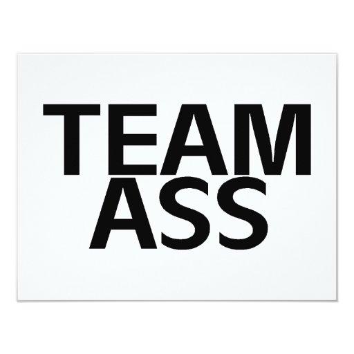 Team Ass Announcement
