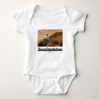 Team Astrobiology (Curiosity Mars Rover Landscape) Baby Bodysuit