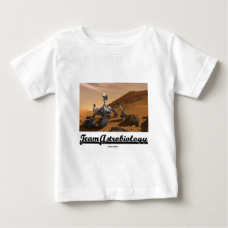 Team Astrobiology (Curiosity Mars Rover Landscape) Baby T-Shirt