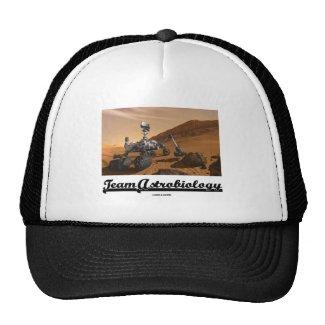 Team Astrobiology (Curiosity Mars Rover Landscape) Hat