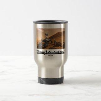 Team Astrobiology (Curiosity Mars Rover Landscape) Mugs
