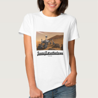 Team Astrobiology (Curiosity Mars Rover Landscape) T Shirt