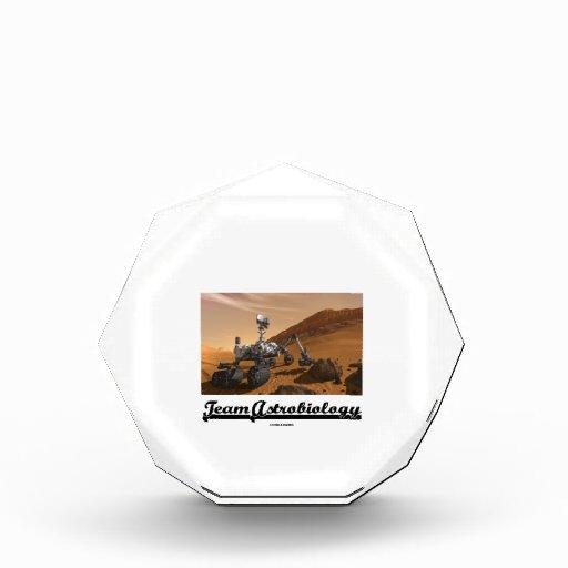 Team Astrobiology (Curiosity Rover Mars Explore) Awards