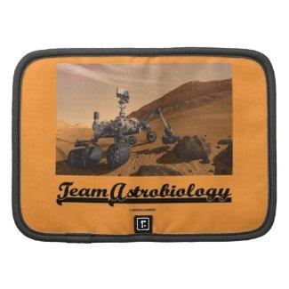 Team Astrobiology (Curiosity Rover Mars Explore) Folio Planners