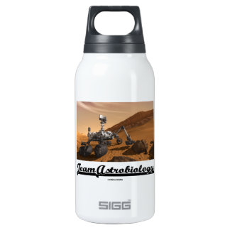 Team Astrobiology (Curiosity Rover Mars Explore) Thermos Bottle