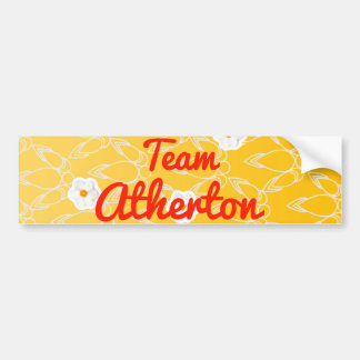 Team Atherton Bumper Sticker