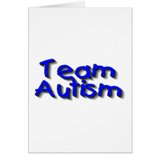 Team Autism (Blue) Card