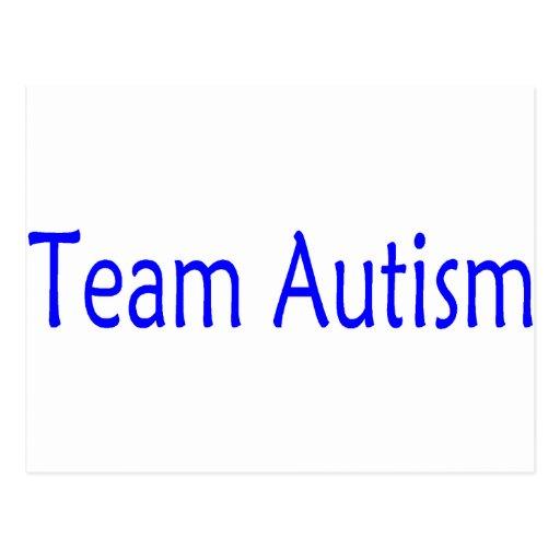 Team Autism (Blue) Postcards