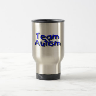 Team Autism (Blue) Travel Mug