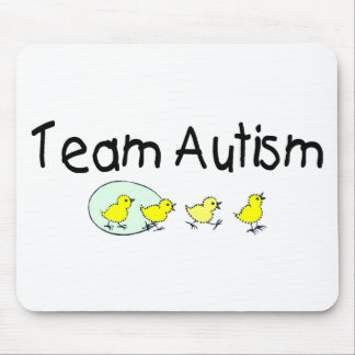 Team Autism (Chicks) Mouse Pad