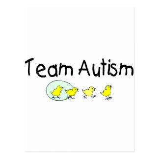 Team Autism (Chicks) Postcard