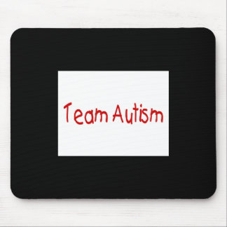 Team Autism (Red) - Customized Mouse Mats