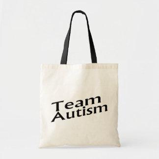 Team Autism Tote Bag