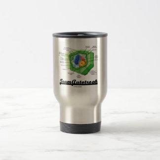 Team Autotroph (Plant Cell Biology) 15 Oz Stainless Steel Travel Mug