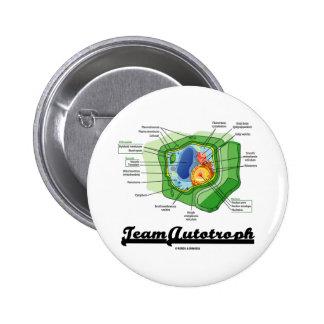 Team Autotroph (Plant Cell Biology) 2 Inch Round Button