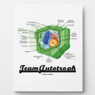 Team Autotroph (Plant Cell Biology) Plaque