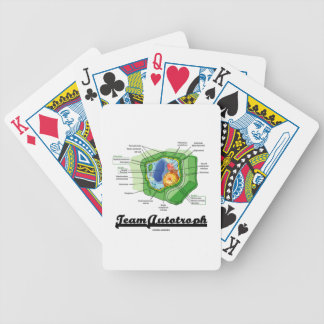 Team Autotroph (Plant Cell Biology) Bicycle Playing Cards