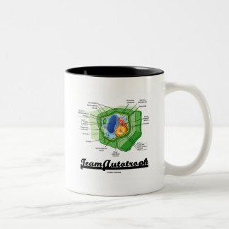 Team Autotroph (Plant Cell Biology) Two-Tone Coffee Mug