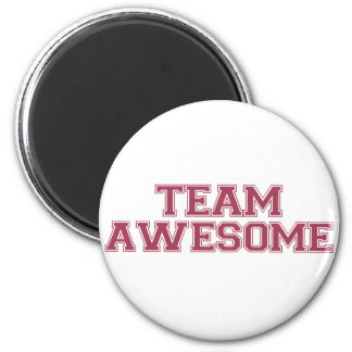 Team Awesome 2 Inch Round Magnet