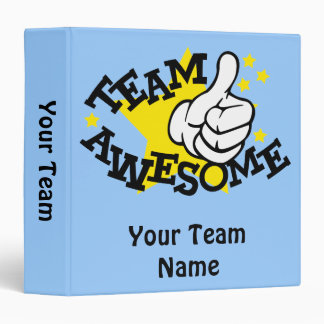 Team Awesome Binder