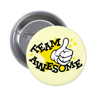 Team Awesome Pin