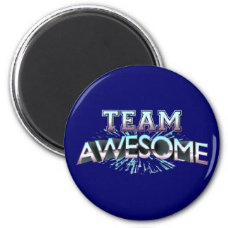 Team Awesome Refrigerator Magnet