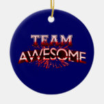 Team Awesome Ornament